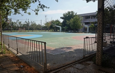 สนามวอลเลย์บอล โรงเรียนเบญจมเทพอุทิศ #1